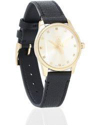 Gucci Reloj G-Timeless 29 mm de piel - Negro