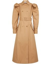 Gabriela Hearst Benedict Cotton Trench Coat - Natural