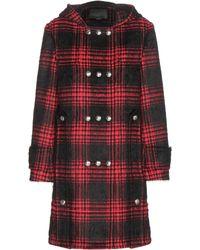 Alexander Wang - Buffalo Cotton-blend Duffle Coat - Lyst