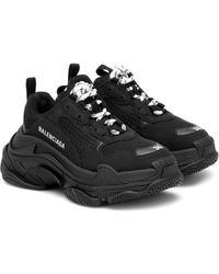 Balenciaga Zapatillas Triple S - Negro