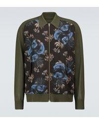 Undercover Printed Zipped Cardigan - Multicolour