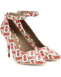 Burberry Wiltkin Leather Ankle - Red