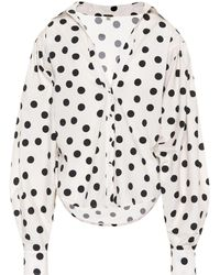 43faddeabc7480 Johanna Ortiz - Exclusive To Mytheresa. Com – Samoa Polka-dot Cotton Top -
