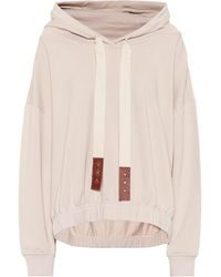 Dorothee Schumacher Exclusive To Mytheresa – Cropped Cotton Hoodie - White