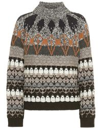 Stella McCartney Pullover in misto lana - Multicolore