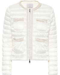 Moncler Wellington Down Jacket - White