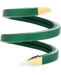 Bottega Veneta Pulsera de piel - Verde