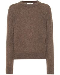 The Row Pullover Muriel in cashmere - Marrone