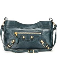 Balenciaga - Giant Hip Leather Shoulder Bag - Lyst