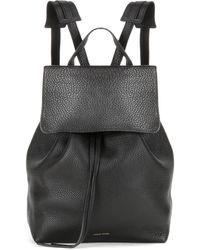 Mansur Gavriel - Leather Backpack - Lyst