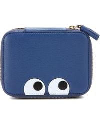 Anya Hindmarch - Eyes Keepsake Medium Leather Box - Lyst