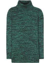 Miu Miu Wool Turtleneck - Green