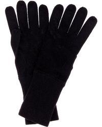 Jardin Des Orangers Cashmere Gloves - Black