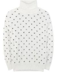 Giamba - Angora-blend Turtleneck Sweater - Lyst