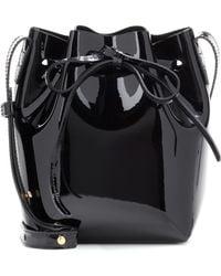 Mansur Gavriel - Mini Mini Patent Leather Bucket Bag - Lyst