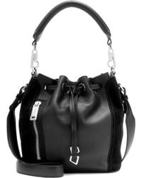Calvin Klein Jeans - Mytheresa. Com Exclusive Re-issue Biker Leather Bucket Bag - Lyst