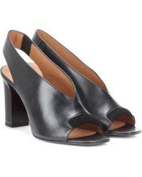 Acne Studios Abbie Leather Heels - Black