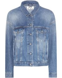 Acne Studios Lab Vintage Denim Jacket - Blue