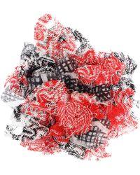 Missoni - Printed Silk-blend Brooch - Lyst