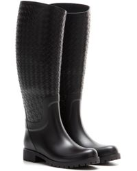 Bottega Veneta Rubber Boots - Black