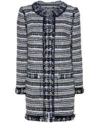 Tory Burch Laila Tweed Coat - Multicolour