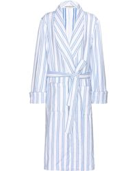 Balenciaga Cotton Robe - Blue