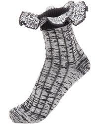 Alexander McQueen | Wool-blend Socks | Lyst