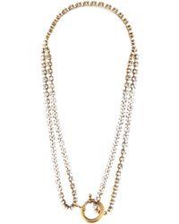 Balenciaga - Crystal-embellished Necklace - Lyst