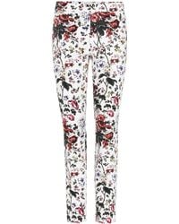 Erdem - Sidney Floral-printed Cotton Trousers - Lyst