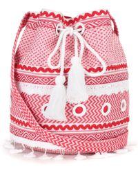 Dodo Bar Or Cotton Bucket Bag - Red