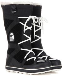 Sorel Winterstiefel Glacy Explorer - Schwarz