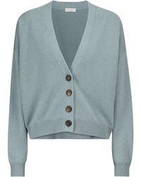 Brunello Cucinelli Wool-blend Cardigan - Green