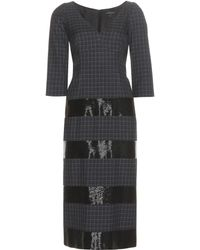 b334a52c4467 Marc Jacobs - Embellished Wool Dress - Lyst