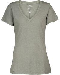 Velvet Camiseta Lilith de algodón - Verde