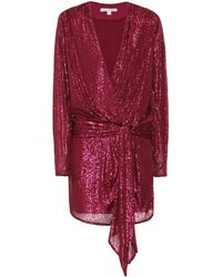 Jonathan Simkhai Exclusivité Mytheresa – Robe à sequins - Rouge
