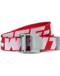 Off-White c/o Virgil Abloh 2.0 Industrial Belt - Red