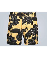 Jacquemus Le Short Tennis Floral Shorts - Multicolour