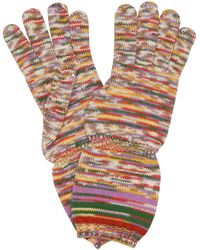 Missoni Striped Wool Gloves - Multicolour