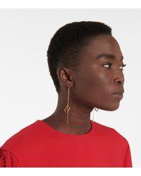 Valentino - Vlogo Signature Threader Earrings - Lyst