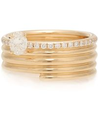 Repossi Ring Blast aus 18kt Roségold mit Diamanten - Mettallic