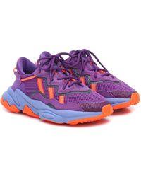 adidas Originals Ozweego Mesh Sneakers - Purple