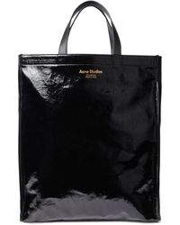 Acne Studios Cotton-blend Tote Bag - Black