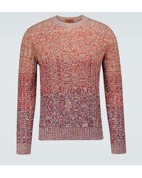 Missoni Pullover in lana e cashmere - Rosso