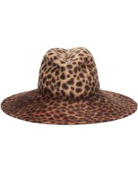 Lola Hats Exclusive To Mytheresa – Biba Leopard-print Felt Hat - Natural