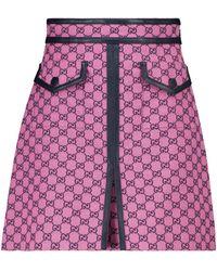 Gucci Minirock GG Multicolor - Pink