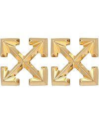 Off-White c/o Virgil Abloh Mini Arrow Earrings - Metallic