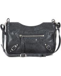Balenciaga - Classic Hip Leather Shoulder Bag - Lyst