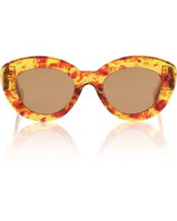 Loewe Oversize-Sonnenbrille - Orange