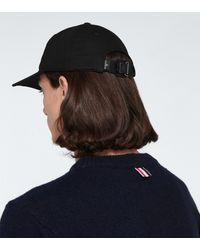 Stone Island Logo-Baseballcap - Schwarz