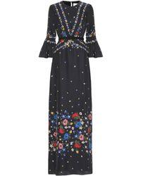 Erdem - Floral-printed Silk Dress - Lyst
